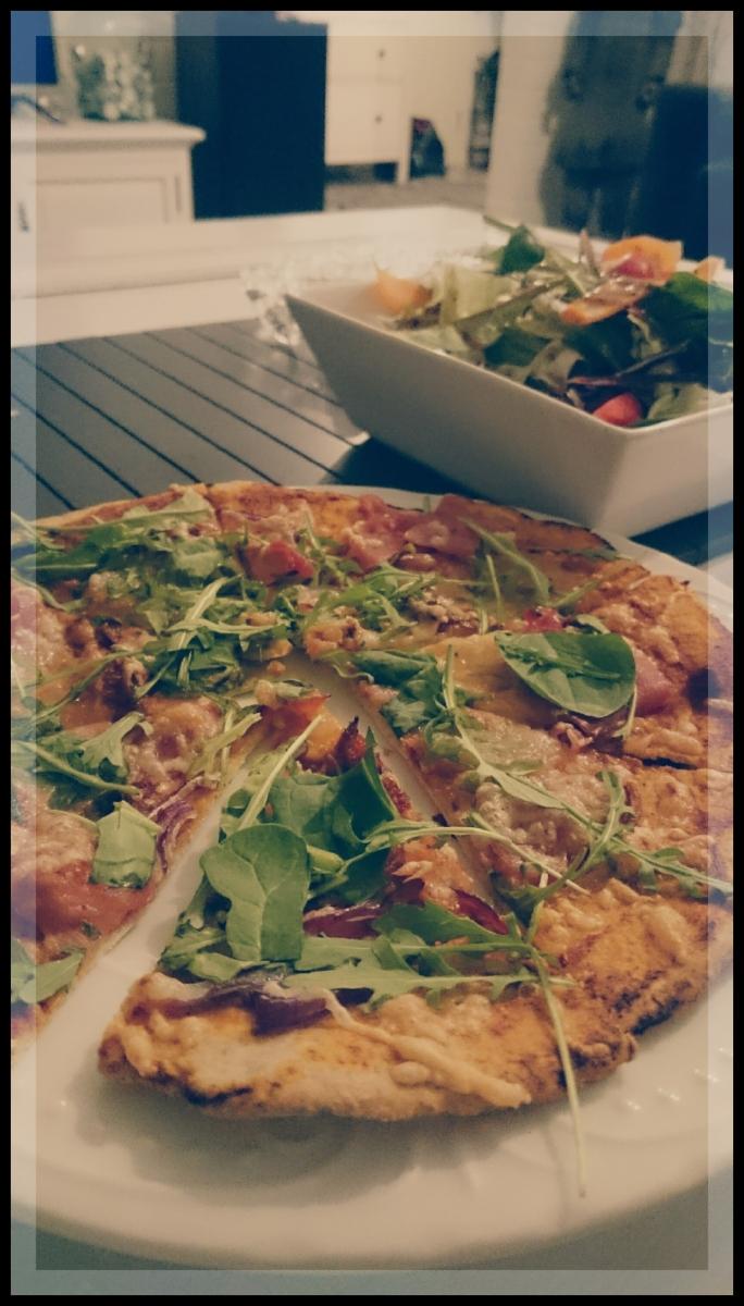Pizzapohja Ruisjauho